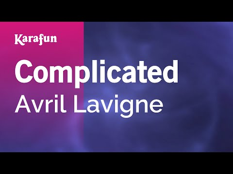 Karaoke Complicated - Avril Lavigne *