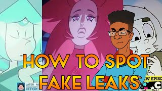 FAKE STEVEN UNIVERSE LEAKS AND HOW TO SPOT THEM