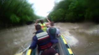 White Water Rafting on Connoquenessing Creek