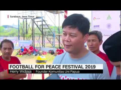 3rd Football For Peace Surabaya - Liputan TV CNN