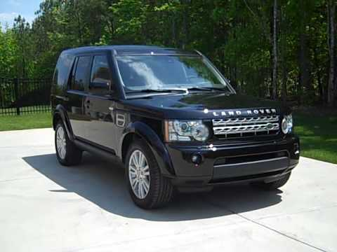 Our New 2010 Land Rover LR4 HSE Exterior (Black on Black ...