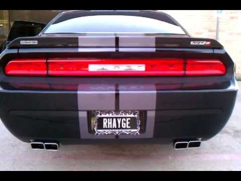 2011 Challenger Srt8 Stock Exhaust With Mopar Quad Tips