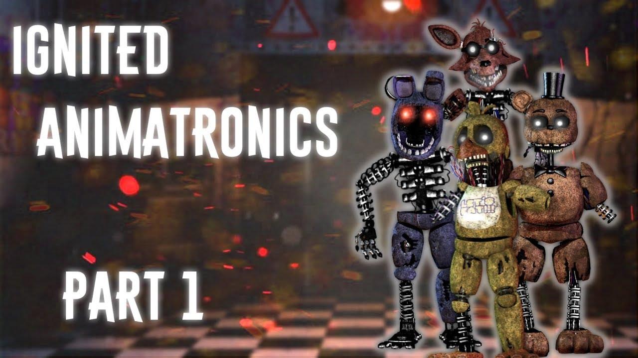[FNAF | Speed Edit] Making Ignited Animatronics Part1
