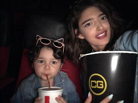 vlog #19 am fost la film si la shopping cu Anais si sormea mai mica