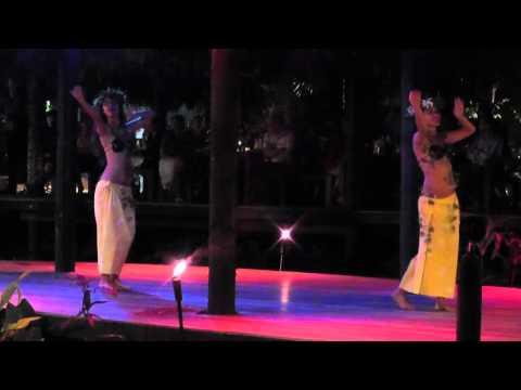 Te Vara Nui Cultural Village Overwater Night Show, Rarotonga, Cook Islands