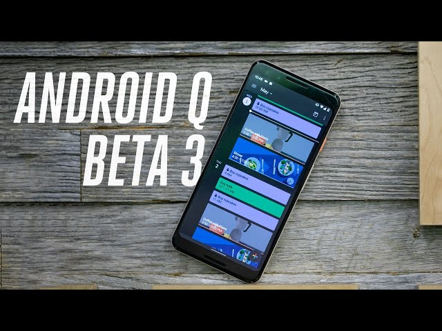 Android - Android Q: exclusive hands-on with the new features