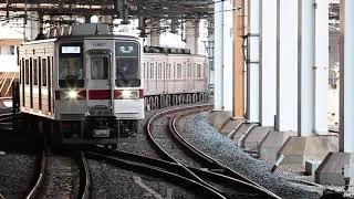 東武10000型 11447編成+2両 北千住入線
