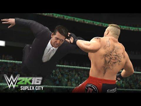 Mr. McMahon Enters Suplex City (WWE 2K16)