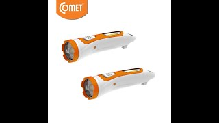 Đèn Pin Sạc Led Comet CRT453 đa năng 2W nhỏ gọn siêu sáng
