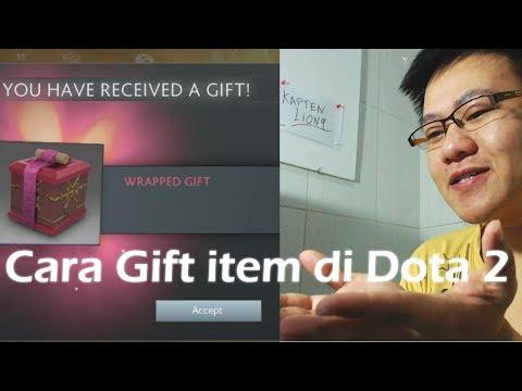 Cara Gift Item Dota 2 (Syarat : Harus Temenan 30 Hari)