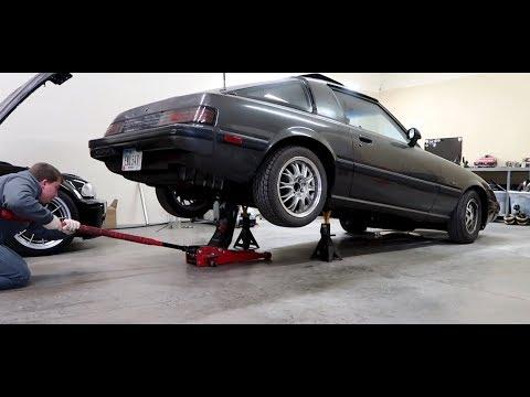 Rx7 Rear Axle Removal