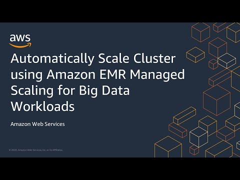 Automatically  Scale Cluster using Amazon EMR Managed Scaling for Big Data Workloads