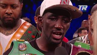 Terence Crawford | Post Fight Interview