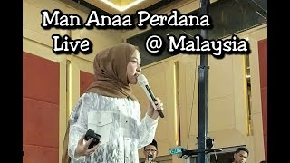 Luar biasa Merdu Nissa Sabyan Bawakan Man ana di konser Malaysia