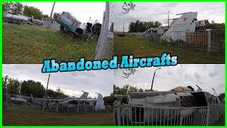 Abandoned Aircrafts and Planes Wreck 2017. Abandoned Soviet Planes and Jets Exploring 2017