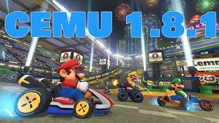 Mario Kart 8 PC Gameplay Low-end Cemu 1.8.1