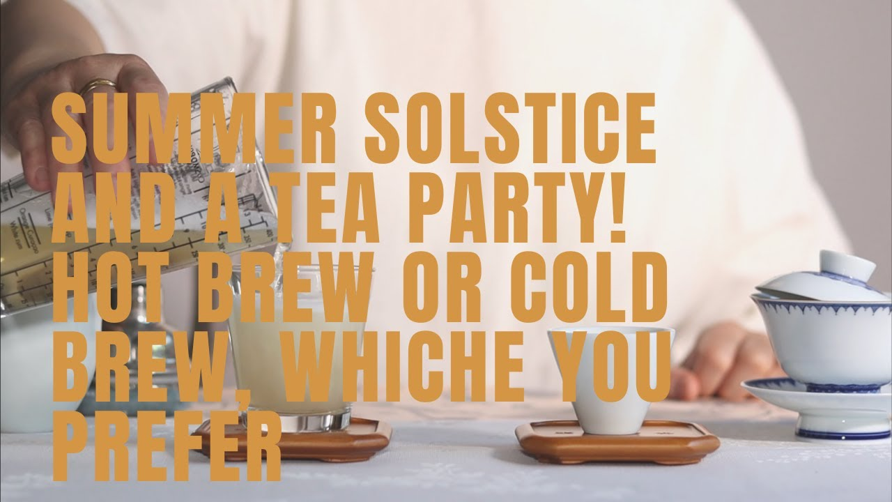 Summer solstice and a tea party