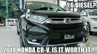 2018 Honda CR-V 1.6 V | Review | Impression | Philippines | Angeles City