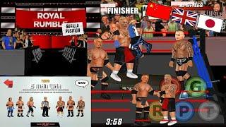 Wrestling revolution 3d wwe 2k16 modwwe roster mod real