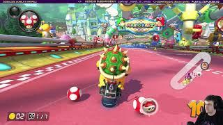 Uczę sie jeździć i jest dziwnie - Mario Kart 8 Deluxe / 02.12.2018 (#3)