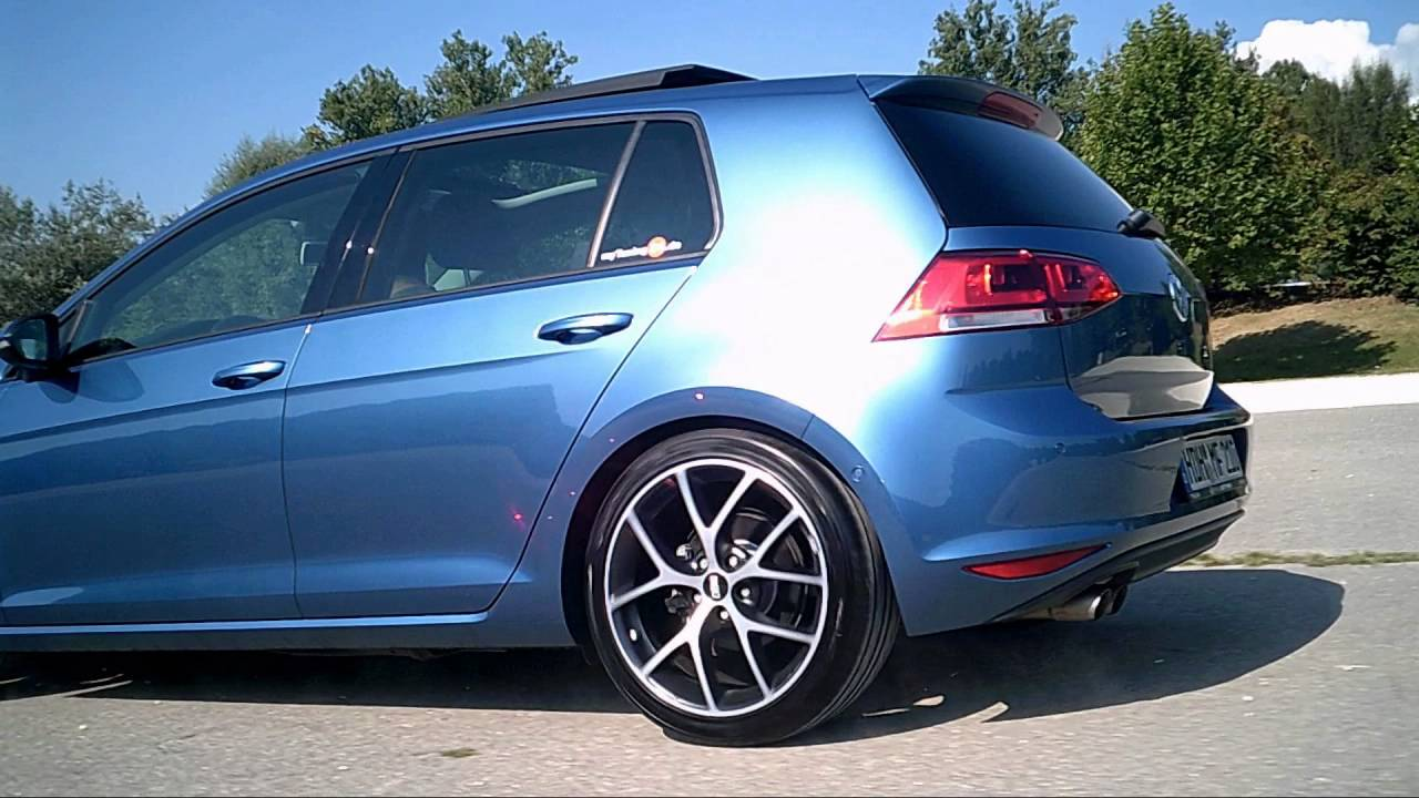 bbs sr vulcano grau diamantgedreht auf vw golf 7 highline. Black Bedroom Furniture Sets. Home Design Ideas