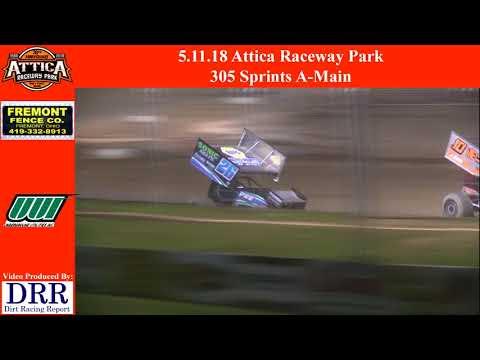 5.11.18 Attica Raceway Park 305 Sprints A-Main