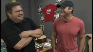 Tim McGraw Steps Up to the Plate with ESPN's John Kruk for the Tug McGraw Foundation