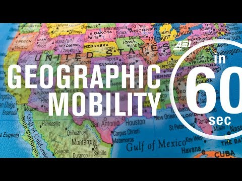 Economics: The advantages of geographic mobility | IN 60 SECONDS