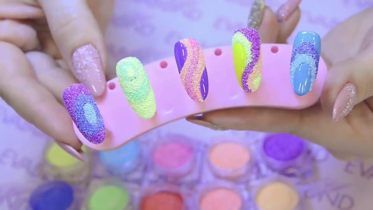 Сахарный песок или манка для дизайна ногтей
