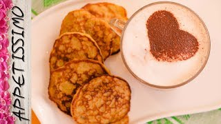 Полезные банановые оладьи без муки из 3 ингредиентов / 3 ingredient Banana Pancakes