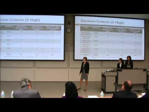 3rd Place | Not-for-Profit Case | Haskayne School of Business - U of C | JDC West 2012