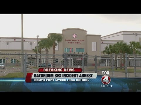 Arrest in case of sex in South Fort Myers High School bathroom thumbnail