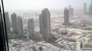 Burj Dubai Construction elevator