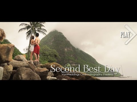 BEST Luxury Destination Wedding - St Lucia Sugar Beach #VanWeddings