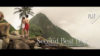 BEST Luxury Destination Wedding - St Lucia Sugar Beach #VanWeddings