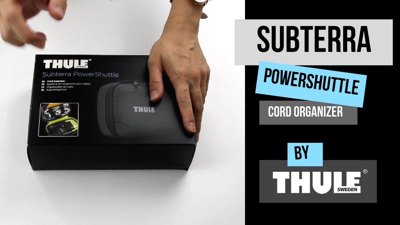 THULE Subterra PowerShuttle Plus Black