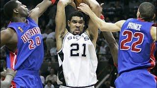 2005 NBA Finals Game 2. San Antonio Spurs vs Detroit Pistons
