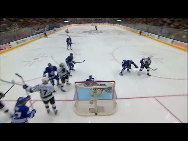 Bernier robs Gaborik with incredible pad save