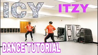 ITZY 'ICY' - DANCE TUTORIAL PT 1