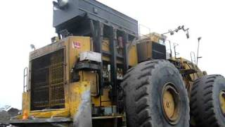 Letourneau loader cold start up