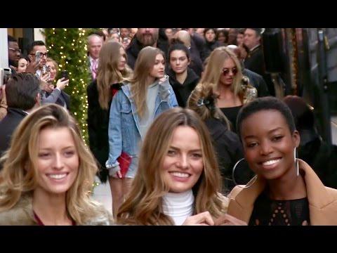 Lily Aldridge, Irina Shayk, Kendall Jenner, Gigi Hadid, Bella Hadid and more in Paris