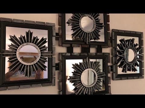Wall Decor Ideas   Elegant Wall Decor DIY   Dollar tree   Gift Ideas   Mirror Wall Decor   DIY Ideas