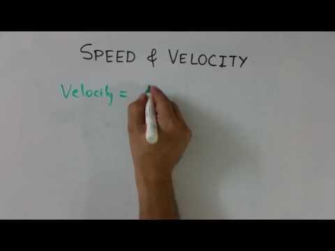 Hindi: Speed & Velocity (part 1)