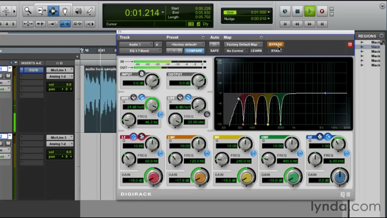 Pro Tools tutorial: How to remove background noise | lynda com