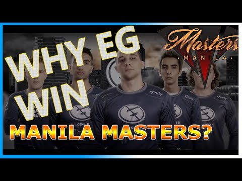 EG -The Art of Team Fights [TOP 10 Plays] [Manila Masters 2017]