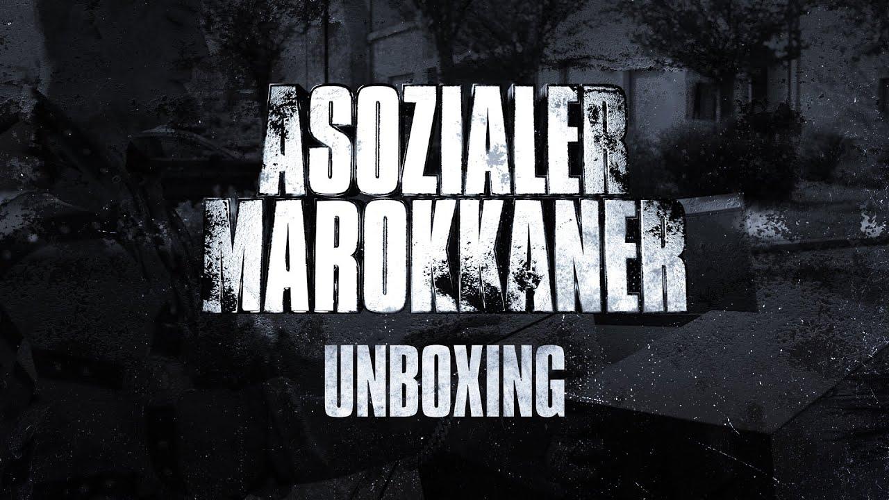 "FARID BANG - ""ASOZIALER MAROKKANER"" UNBOXING [BOX]"