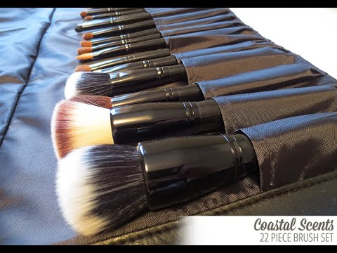 coastal scents brushes. coastal scents 22 piece brush set review brushes