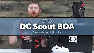 2018 DC Scout BOA Snowboard Boots