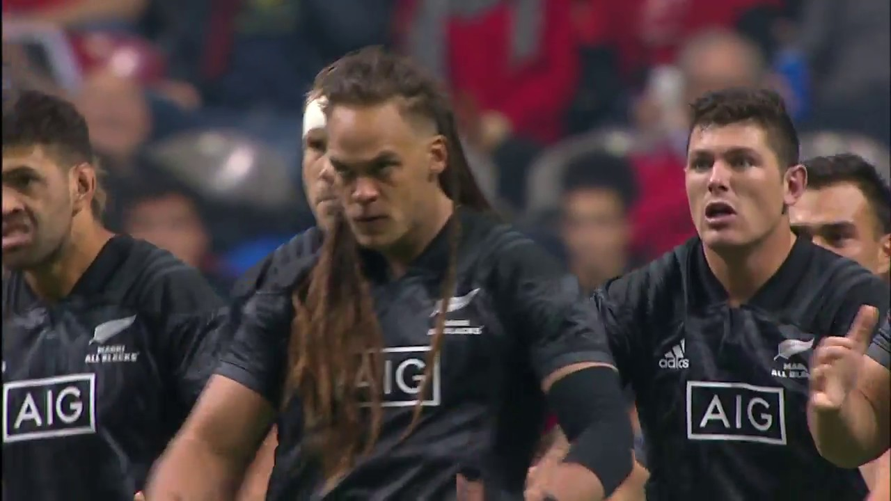 Maori All Blacks Haka at sold-out BC Place in Vancouver - YouTube 05181a29b