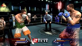 Don King Presents Prizefighter Career Mode part 7